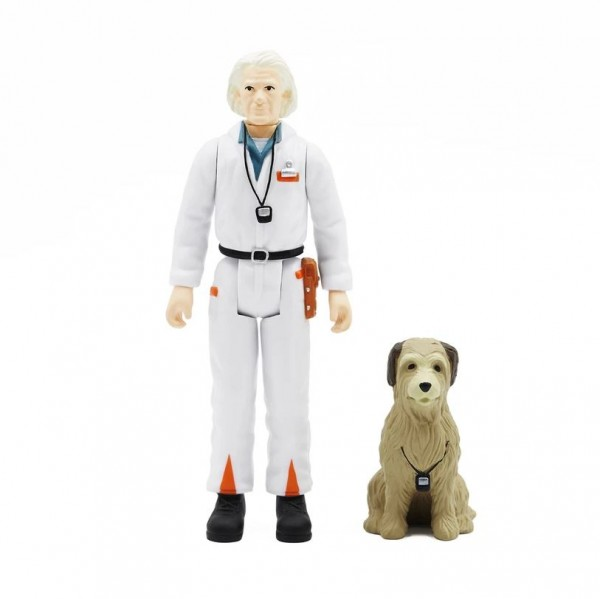 Back to the Future ReAction Actionfigur Doc Brown (1980s)
