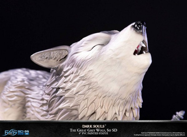Dark Souls PVC SD Statue The Great Grey Wolf Sif