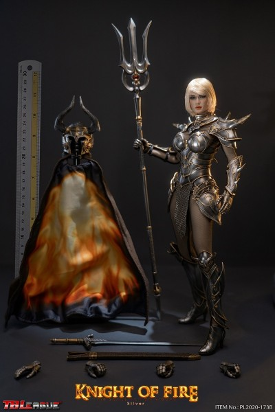 Phicen / TBLeague 1/6 Actionfigur Knight of Fire (Silver)
