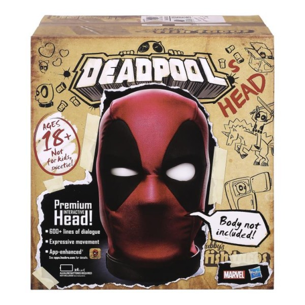 Deadpool Marvel Legends Premium Interactive Electronic Head