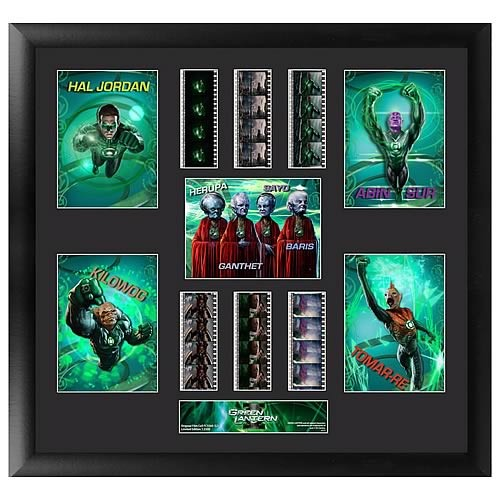 Film Cell Green Lantern Montage Avengers