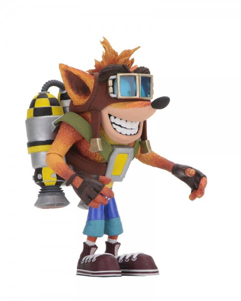 Crash Bandicoot Actionfigur Crash Bandicoot with Jetpack (Deluxe)