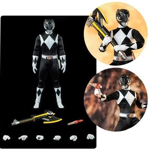 Mighty Morphin Power Rangers FigZero Actionfigur 1/6 Black Ranger