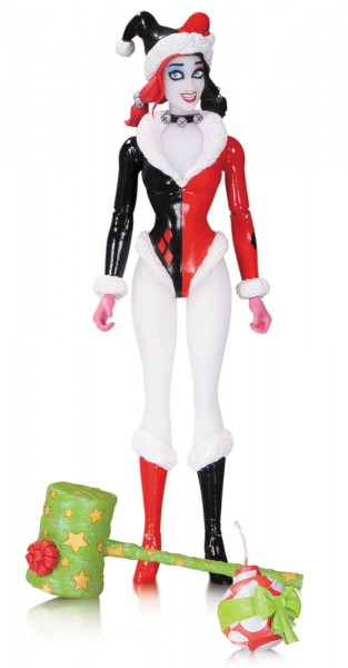 DC Designer Series Actionfigur Harley Quinn Holiday by Amanda Conner