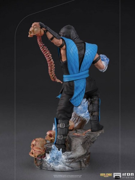 Mortal Kombat Art Scale Statue 1/10 Sub-Zero