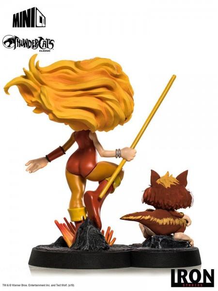Thundercats Minico PVC Figur Cheetara & Snarf