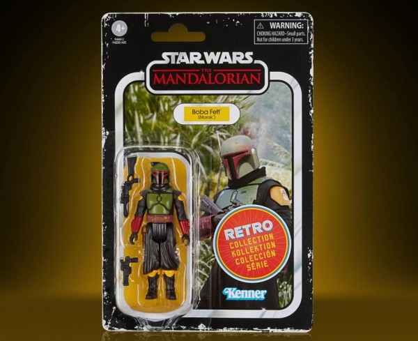 Star Wars Mandalorian Retro Collection Actionfigur 10 cm Boba Fett (Morak)