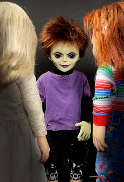 Chuckys Baby Prop Replik 1/1 Glen Puppe