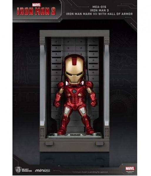 Iron Man 3 'Mini Egg Attack Action' Figur Hall of Armor Iron Man Mark VII