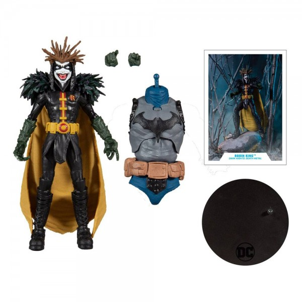 DC Multiverse Build A Actionfigur Robin King (Dark Nights: Death Metal)