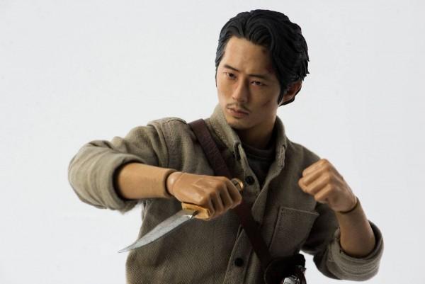 Walking Dead Actionfigur 1/6 Glenn Rhee (Deluxe Version)