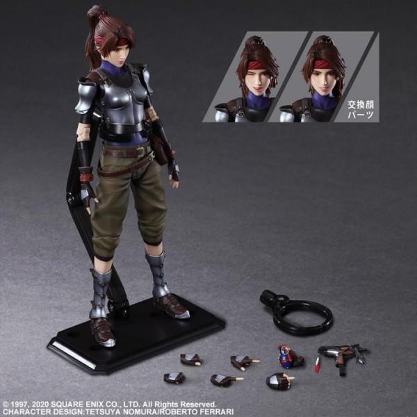 Final Fantasy VII Remake Play Arts Kai Actionfigur Jessie
