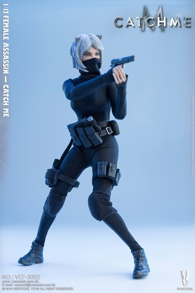 VERYCOOL Actionfigur 1/12 Female Assassin - Catch Me