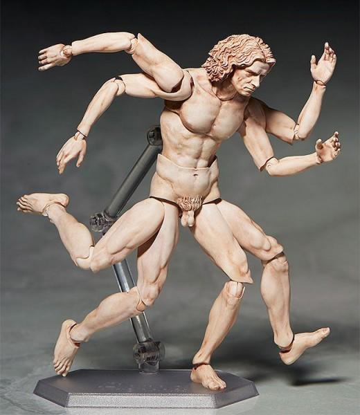 Table Museum Figma Actionfigur Vitruvian Man