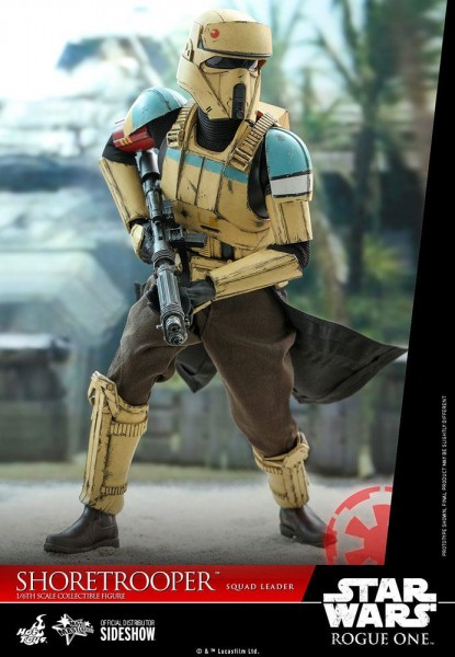 Star Wars Rogue One Movie Masterpiece Actionfigur 1/6 Shoretrooper Squad Leader