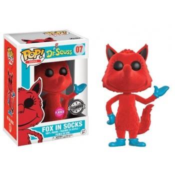 Dr. Seuss Funko Pop! Vinylfigur Fox In Socks (Flocked) 07 Exclusive