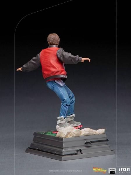 Zurück in die Zukunft II Art Scale Statue 1/10 Marty McFly on Hoverboard