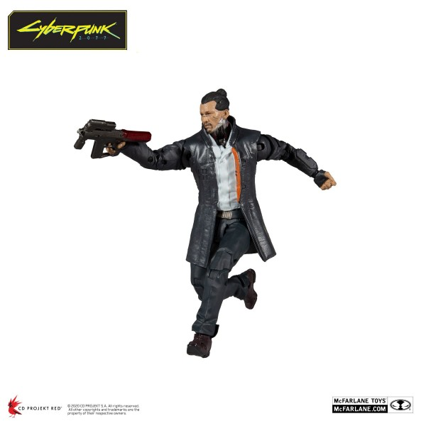 Cyberpunk 2077 Actionfigur Takemura