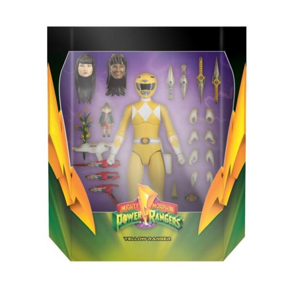 Power Rangers Ultimates Actionfigur Mighty Morphin Yellow Ranger