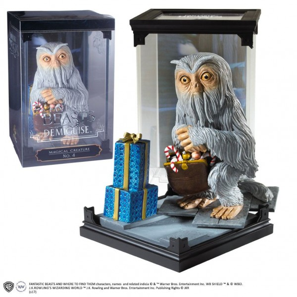 Fantastic Beasts Magical Creatures Statue Demiguise