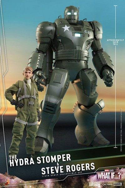 What If...? Animated Series Masterpiece Actionfiguren 1/6 Steve Rogers & The Hydra Stomper (2-Pack)
