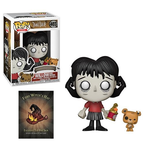Don't Starve Funko Pop! Vinylfigur Willow & Bernie 403