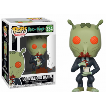 Rick and Morty Funko Pop! Vinylfigur Cornvelious Daniel (with Mulan Sauce) 334