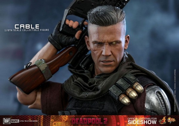 Deadpool 2 Movie Masterpiece Actionfigur 1/6 Cable