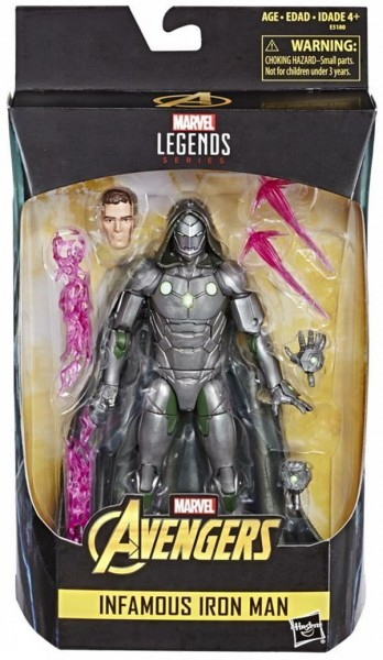 Avengers Marvel Legends Actionfigur Infamous Iron Man (Exclusive)