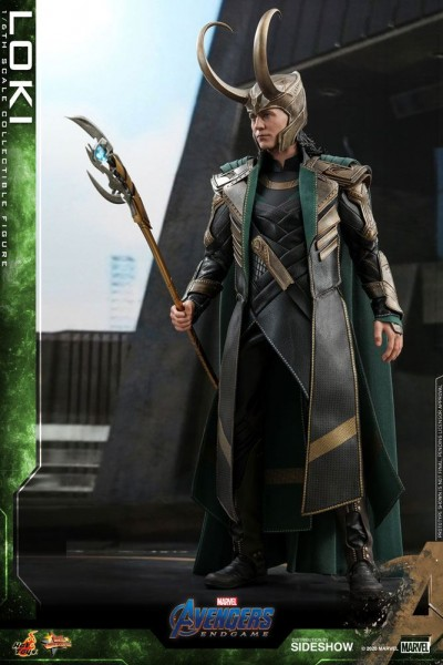 Avengers Endgame Movie Masterpiece Actionfigur 1/6 Loki
