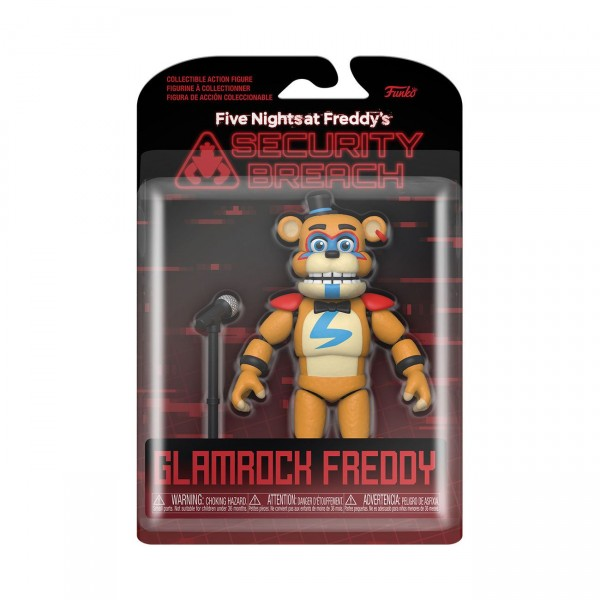 Five Nights at Freddy's Security Breach Actionfigur Glamrock Freddy