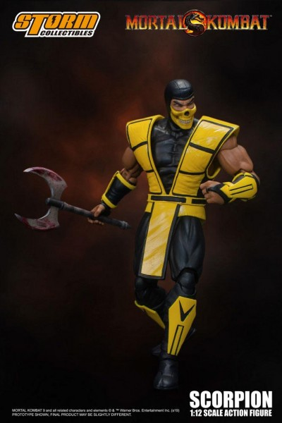 Mortal Kombat Actionfigur 1/12 Scorpion