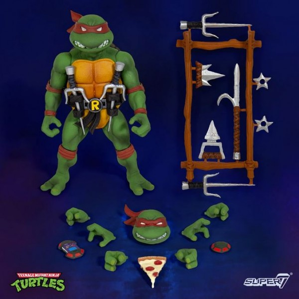 Teenage Mutant Ninja Turtles Ultimates Actionfiguren-Set Wave 1 (4)