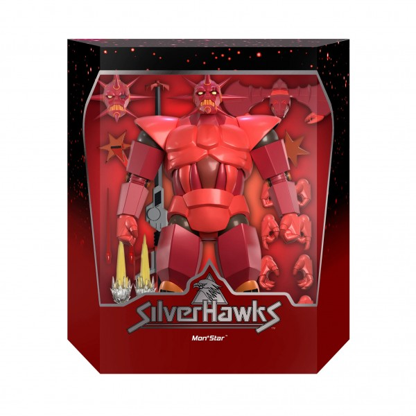 Silverhawks Ultimates Actionfigur Mon*Star (Armored)