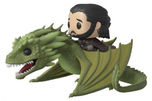 Game of Thrones Funko Pop! Rides Vinylfigur Jon Snow & Rhaegal