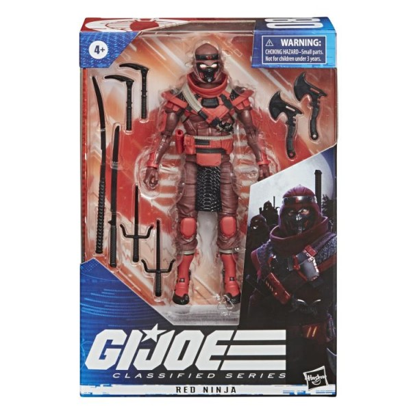G.I. Joe Classified Series Actionfigur 15 cm Red Ninja