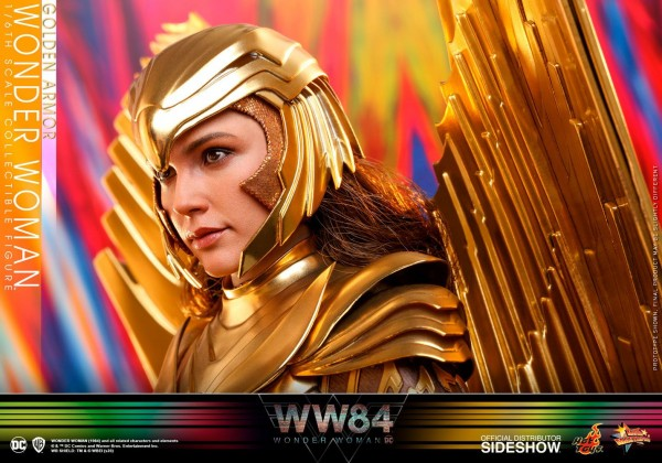 Wonder Woman 1984 Movie Masterpiece Actionfigur 1/6 Golden Armor Wonder Woman