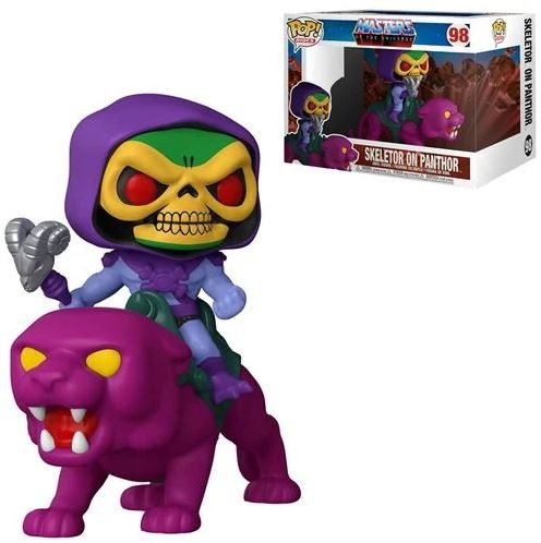 Masters of the Universe Funko Pop! Rides Vinylfigur Skeletor & Panthor