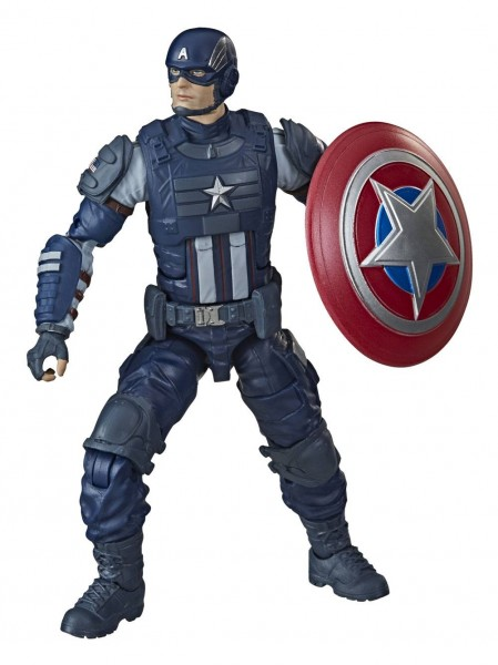 Avengers Gamerverse Marvel Legends Actionfigur Captain America