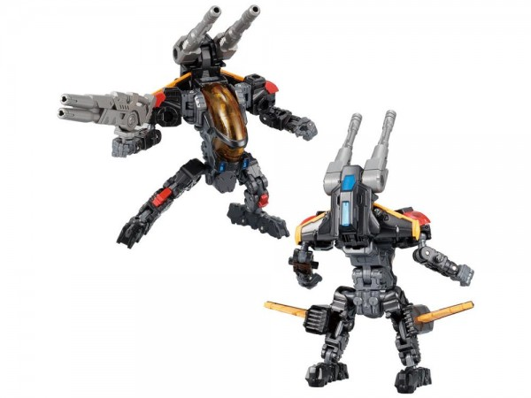 Transformers Diaclone Reboot - DA-56 Verse Riser Vol. 1 Shadow Caliber Type (Takara Tomy Mall Exclus