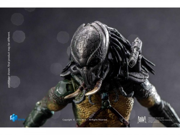 Predators Actionfigur 1/18 Tracker Predator (Previews Exclusive)