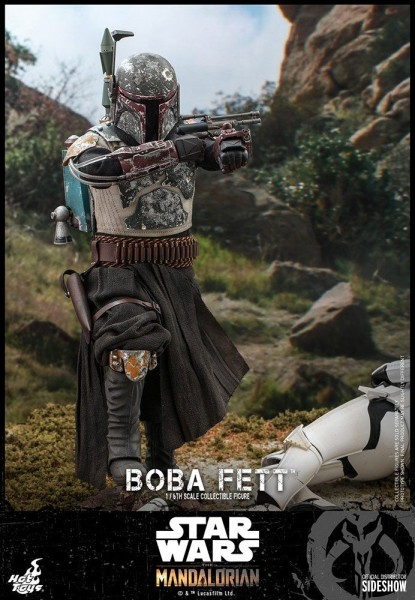 Star Wars The Mandalorian Television Masterpiece Actionfigur 1/6 Boba Fett