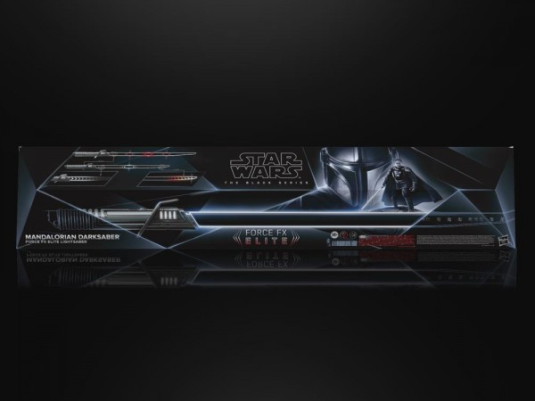 Star Wars Black Series Force FX Elite Mandalorian Darksaber