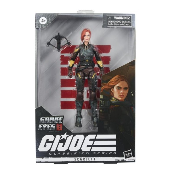 G.I. Joe Classified Series Actionfigur 15 cm Scarlett (Movie)