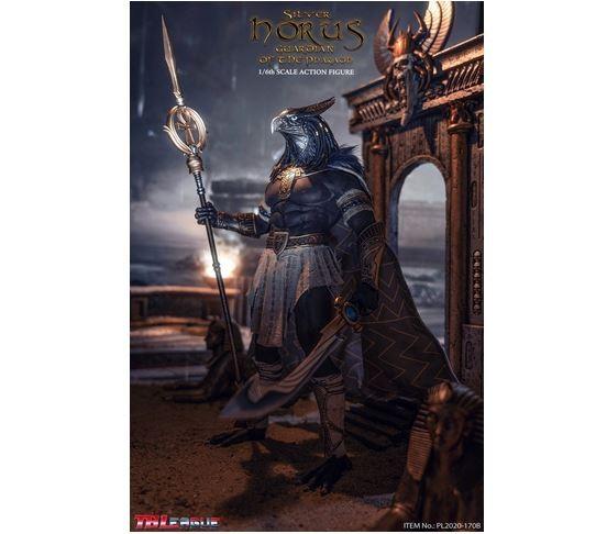 Phicen / TBLeague 1/6 Actionfigur King and Vengeful God Horus (Silver Edition)