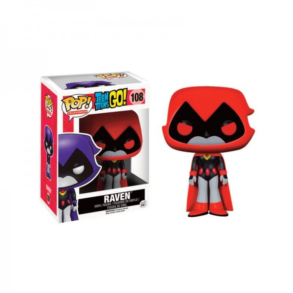 Teen Titans Go! Funko Pop! Vinylfigur Raven (Orange) 108 Exclusive