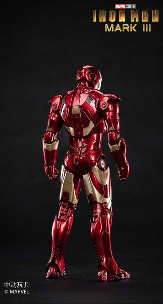 ZD Toys Actionfigur 1/10 Iron Man Mark III