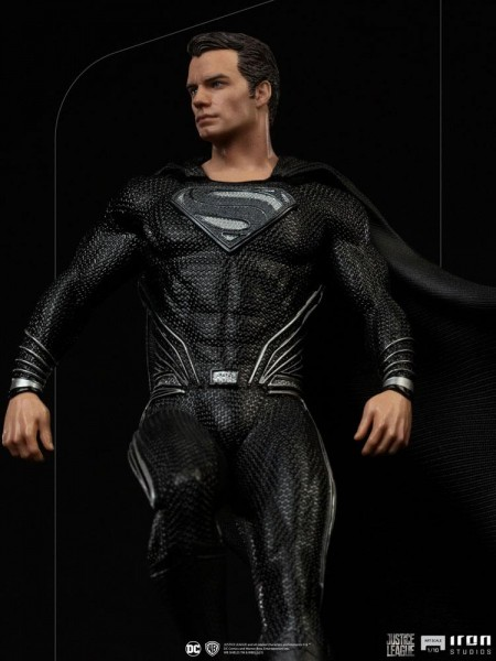 Zack Snyder's Justice League Art Scale Statue 1/10 Superman (Black Suit)
