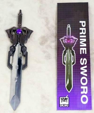 Dr. Wu DW-TP05 Energon Sword - Matrix Prime Sword