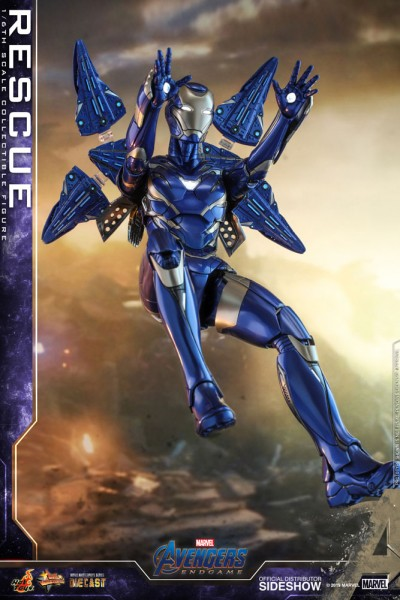 Avengers Endgame Movie Masterpiece Diecast Actionfigur 1/6 Rescue